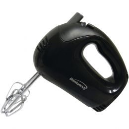 Brentwood Appliances HM-44 5-Speed Electric Hand Mixer (Black)
