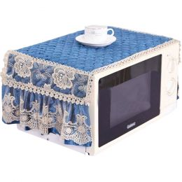 Exquisite Microwave Oven Dustproof Cover Microwave Protector - Blue