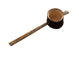 Bamboo Spoon Follicular Bamboo Root Tea Filter Tea Straine Tea Strainers
