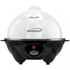 Brentwood Appliances TS-1045BK Electric Egg Cooker with Auto Shutoff (Black)